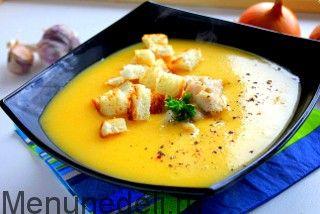 Суп-пюре из разных овощей как в детском саду / Меню недели