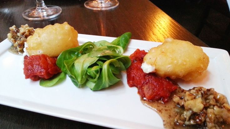 Deep fried Ardsallagh Goats Cheese- One of the best I tried in Ireland