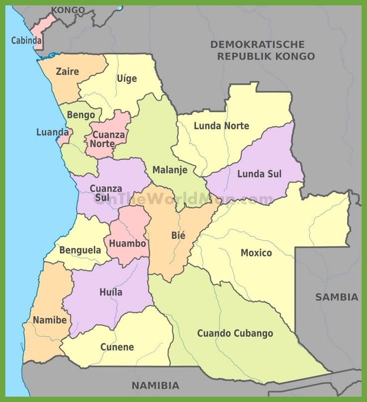 Best Angola Map Ideas On Pinterest Africa Map Africa - Angola map