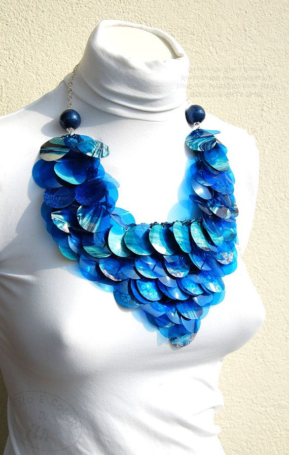 1000 images about recycled plastic crafts on pinterest for Jewelry made from plastic bottles