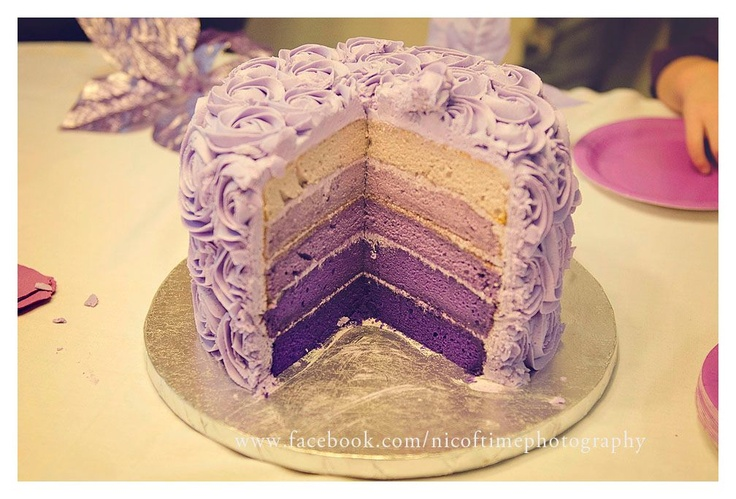 Purple party idea, can I have this cake??
