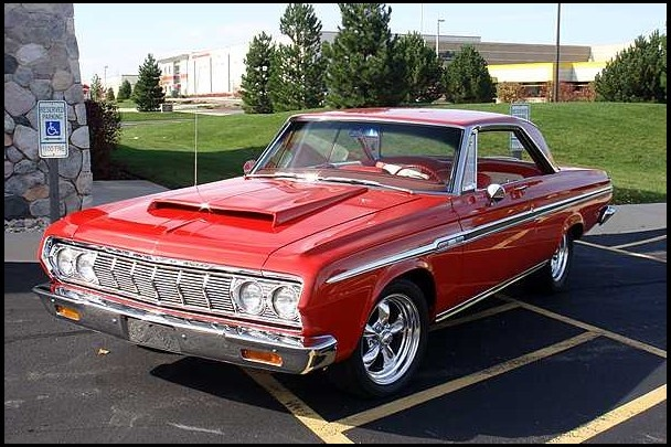 '64 Plymouth Fury-Had this in high school.