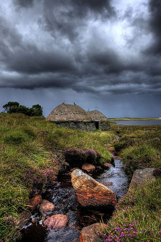 Norse Mill Blackhouses, Isle of Lewis by www.bazpics.com, via Flickr