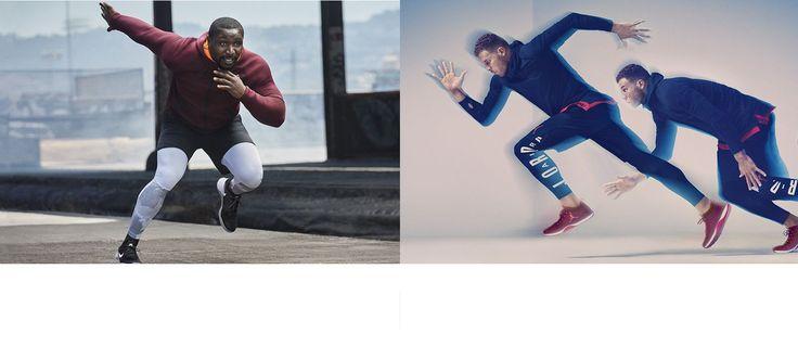 Bla gjennom fottøy, klær og tilbehør for herre i Nike-butikken. Finn stiler for hver idrett, inkludert overdeler, underdeler, frakker, sokker og mer. Bestill på nett >