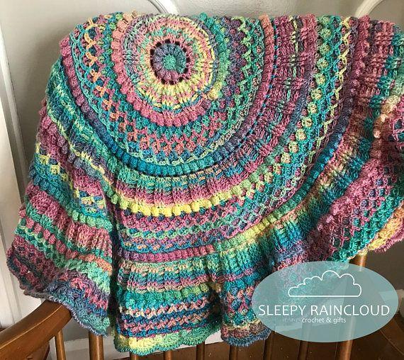 Best 25 Rainbow Crochet Blankets Ideas On Pinterest