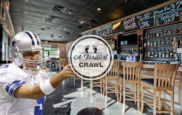 Tony Romo bar crawl