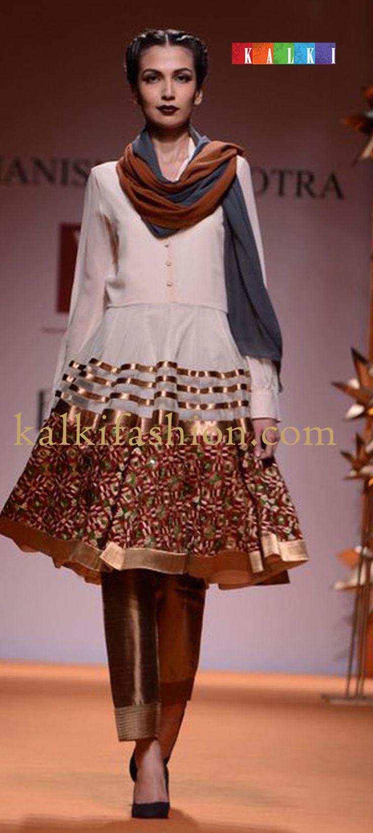 http://www.kalkifashion.com/designers/manish-malhotra.html    off-white-short-anarkali-suit-with-border