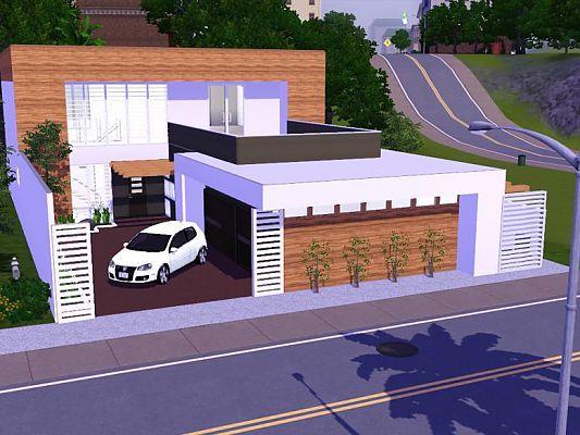 Sims 3 updates sims 3 modern houses bahia house for Modern home stuff
