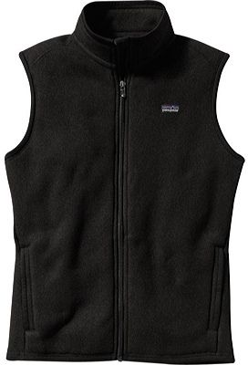 Women's Patagonia Better Sweater Vest - Black Vests - $74.95
