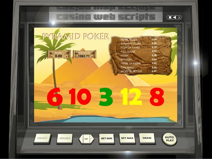 Buy Video Poker game for Online Casino - Pyramid Video Poker Videopoker card