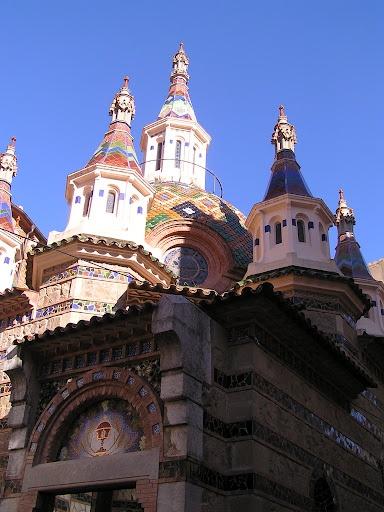 Església modernista de Lloret de Mar (La Selva - Catalunya - Spain)