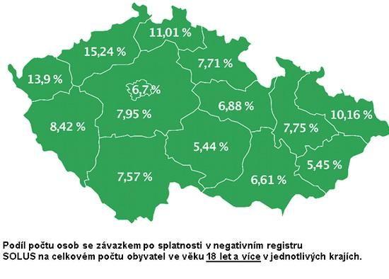 Počet dlužníků v prodlení klesá ve všech krajích: díky registrům i rostoucí ekonomice http://finparada.cz/zprava_banka.aspx?ID=9395…