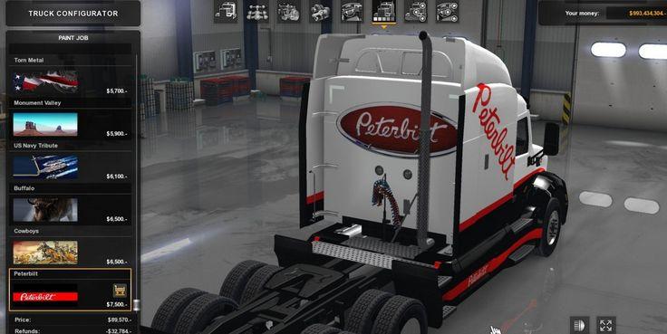 Peterbilt 579 skin by 31MayGroup for ATS - American Truck Simulator mod | ATS mod