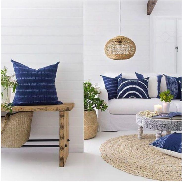 Azul índigo na decor / inspiration / homedecor