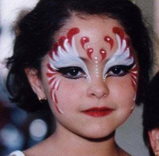 Resultado de imagen para maquillaje de mariposita en los ojos