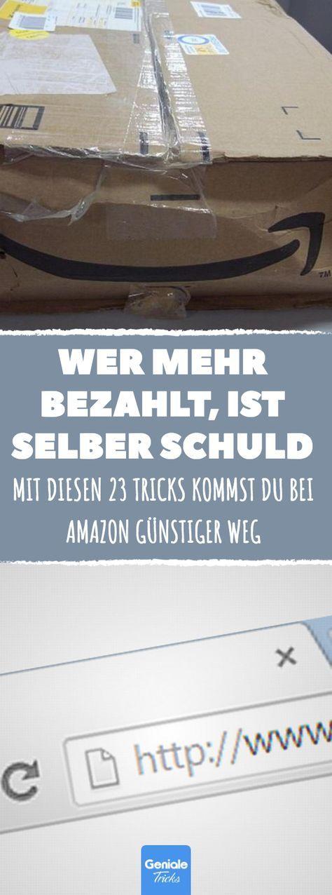 Günstiger shoppen: Mit diesen Tricks kannst du bei Amazon bares Geld sparen. #s… – Geschäftsideen