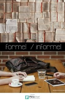 formel informel | Piktochart Infographic Editor