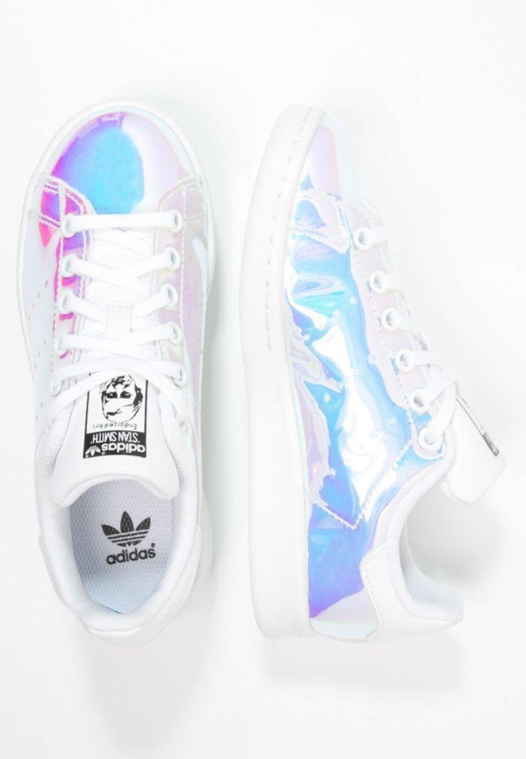 adidas new stan smith j (white/ metallic)