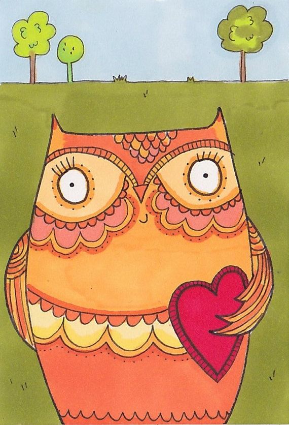 'Owl' by Heidi M of Little Nore