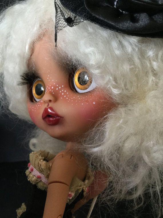 OOAK Custom Blythe Art Doll Leila by Bravura by Bravuradolly