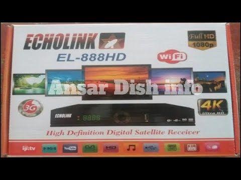 ECHOLINK 888 HD RECEIVER AUTO ROLL POWERVU KEY SOFTWARE NEW UPDATE