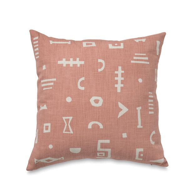 Citta Design Coral Amulet Cushion