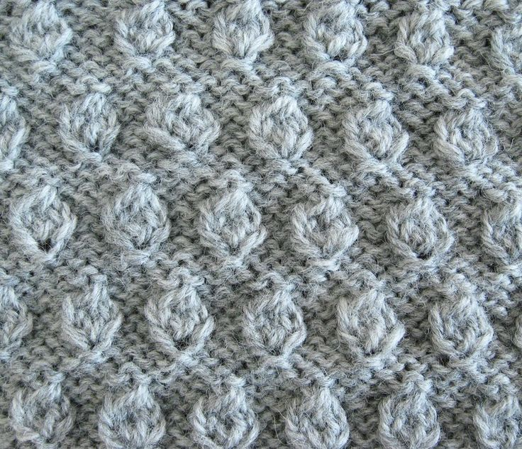 Learn how to work the hazelnut stitch in knitting projects, with a full, detailed, photo tutorial.
