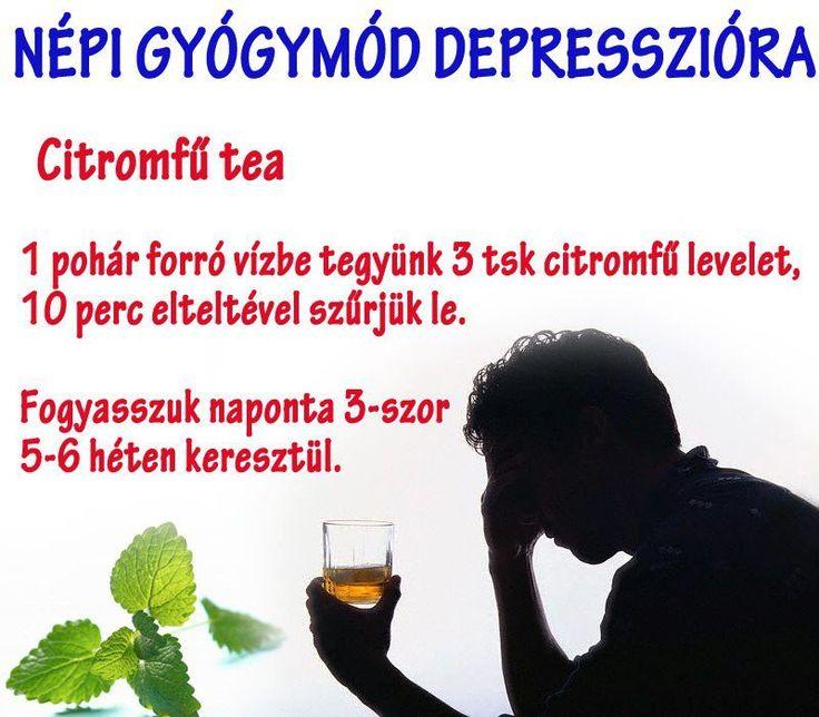 Depresszió ellen hagyományos gyógymód