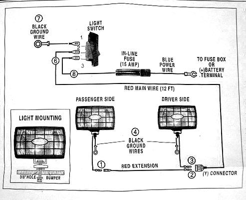 club car wiring diagram for led light wiring auxiliary lights | medium duty work truck info ... wiring diagram for led light truck