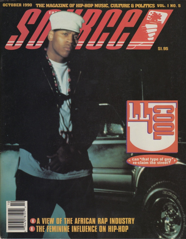 The Source (October 1990) featuring LL Cool J