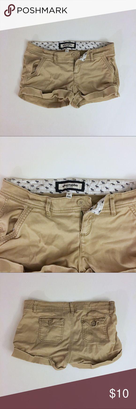 Abercrombie Kids Girl's Khaki Shorts - Size 16 Abercrombie Kids Girl's Khaki Shorts - Size 16 - in good condition Abercombie Kids Bottoms Shorts