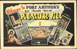 old pictures of port arthur tx | title welcome to port arthur s pleasure pier port arthur texas tx ...