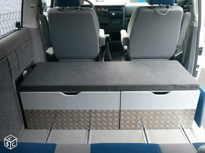 Amenagement, meuble, coffre, tiroir vw multivan t4                                                                                                                                                                                 Plus