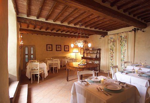 Sala Colazioni e Ristorante - Bed and Breakfast Antico Podere Marciano #Chianti #Tuscany