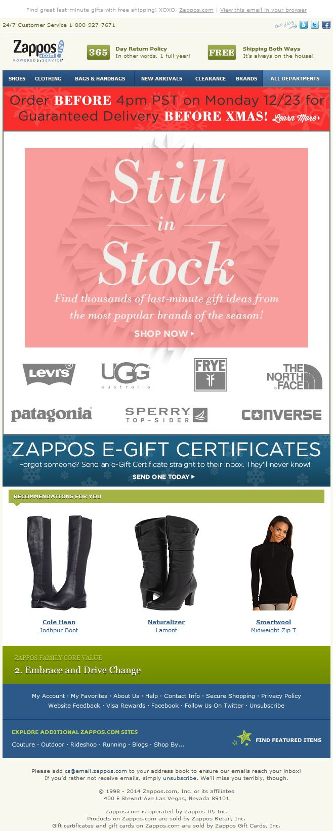 vip zappos free overnight shipping