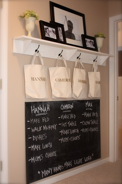 entry way: Ideas, Mudroom, Organization, Command Centers, Mud Room, Chalkboard, Kid, Laundry Room