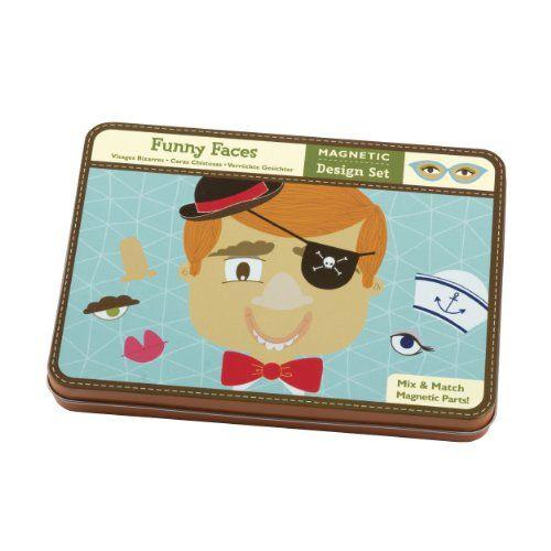 Śmieszne buźki, to zabawka magnetyczna dla dzieci w różnym wieku. Bardzo dobrze sprawdza się w podróży jako czasoumilacz.
