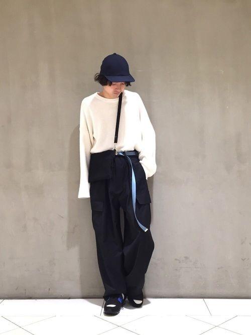 たまにはシンプルなコーデもありですね👌 Lui's/EX/store なんばCITY店