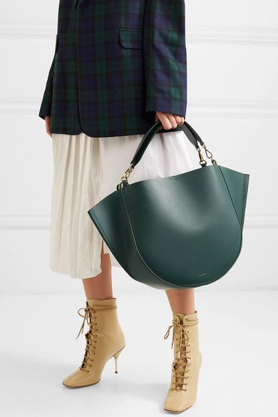 a9e6b1e8a Wandler | Mia big leather tote | NET-A-PORTER.COM | shoulder bag in ...