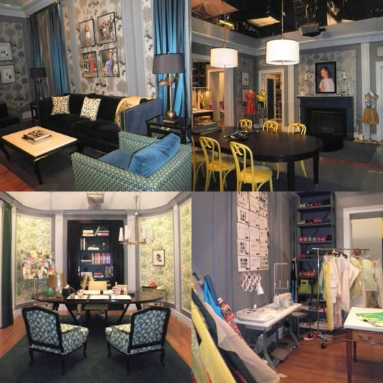 Office crush blair waldorf s office the preppy post for Blair waldorf bedroom ideas