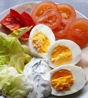 Vaříme bez tuku: Obložený talíř se šunkou a vejcem