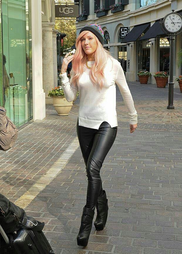 Ellie Goulding love her unique style