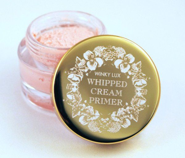 #WLwhippedcream The new Winky Lux Whipped Cream Primer is as delectable as it gets! Blur pores and prolong makeup wear with this moussey formula that feels as light as a cloud on your skin. Wear alone
