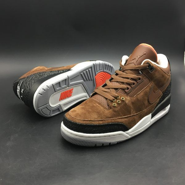 e2e0d77a0bf443 2018 Air Jordan 3 JTH NRG Tinker Chocolate Black White in 2019 ...