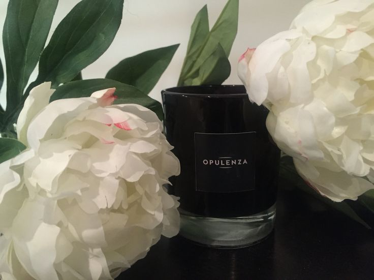 Www.opulenza.com.au gorgeous luxury soy scented candle and peonies