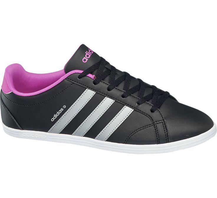 release date adidas neo derby qt schwarz pink 991c1 835af