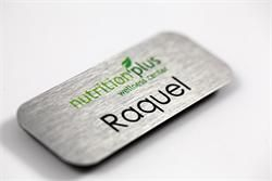 Premium Metal Name Tags |  Full Color Name Badges