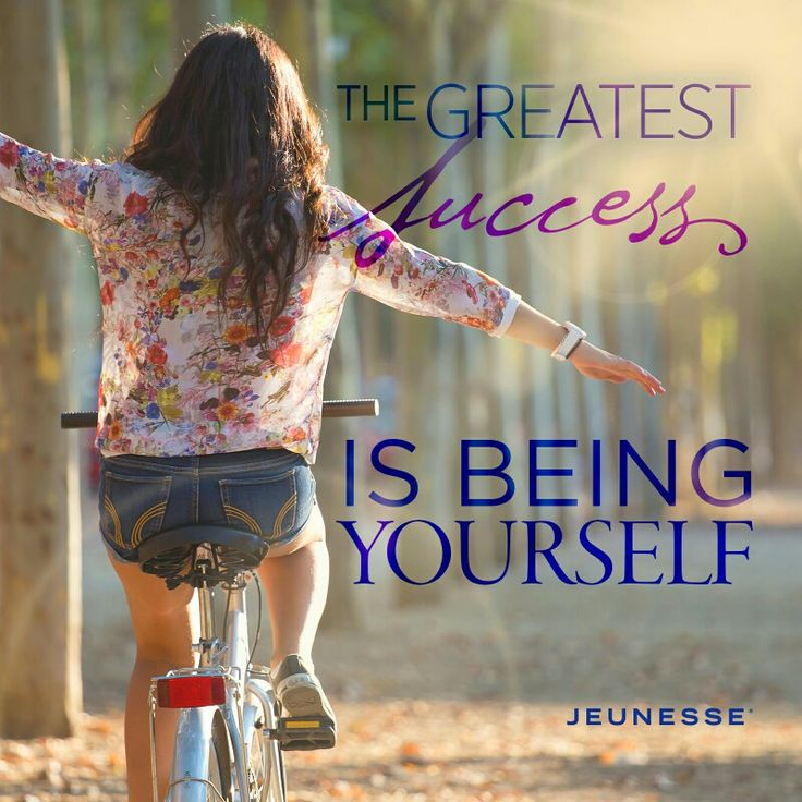 Amen to that, never be afraid to be yourself