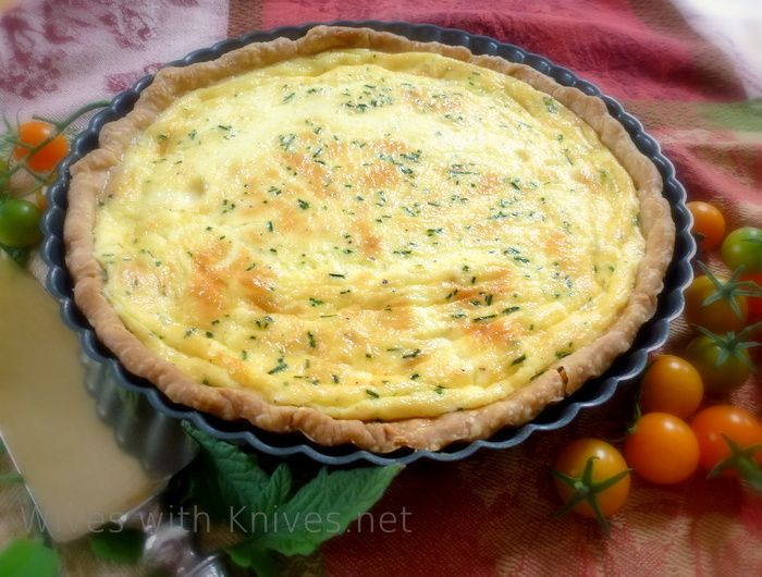 JULIA CHILD'S QUICHE LORRAINE - too custardy to just omit the crust (for NSNG, Paleo, Primal). Instead, if you don't eat wheat, make a Paleo/nut crust