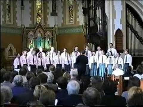 Romantic Choruses (Brumby) SATB Choir - YouTube